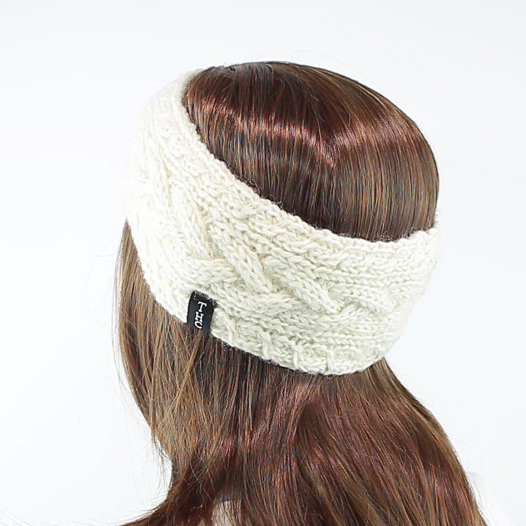 Foto 4: Strinband aus Schafwolle