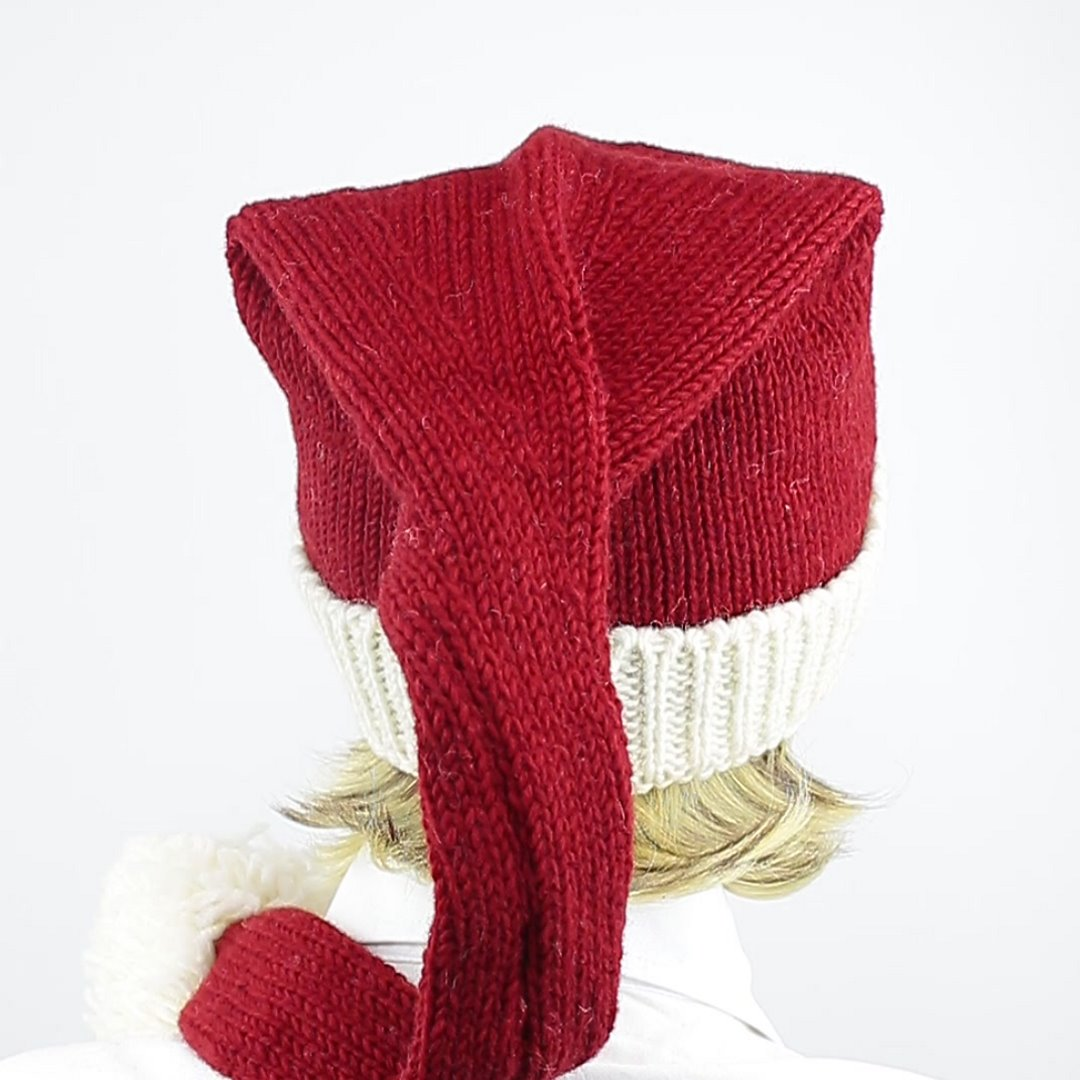 Foto 3: Weihnachtsmann-Wollmütze