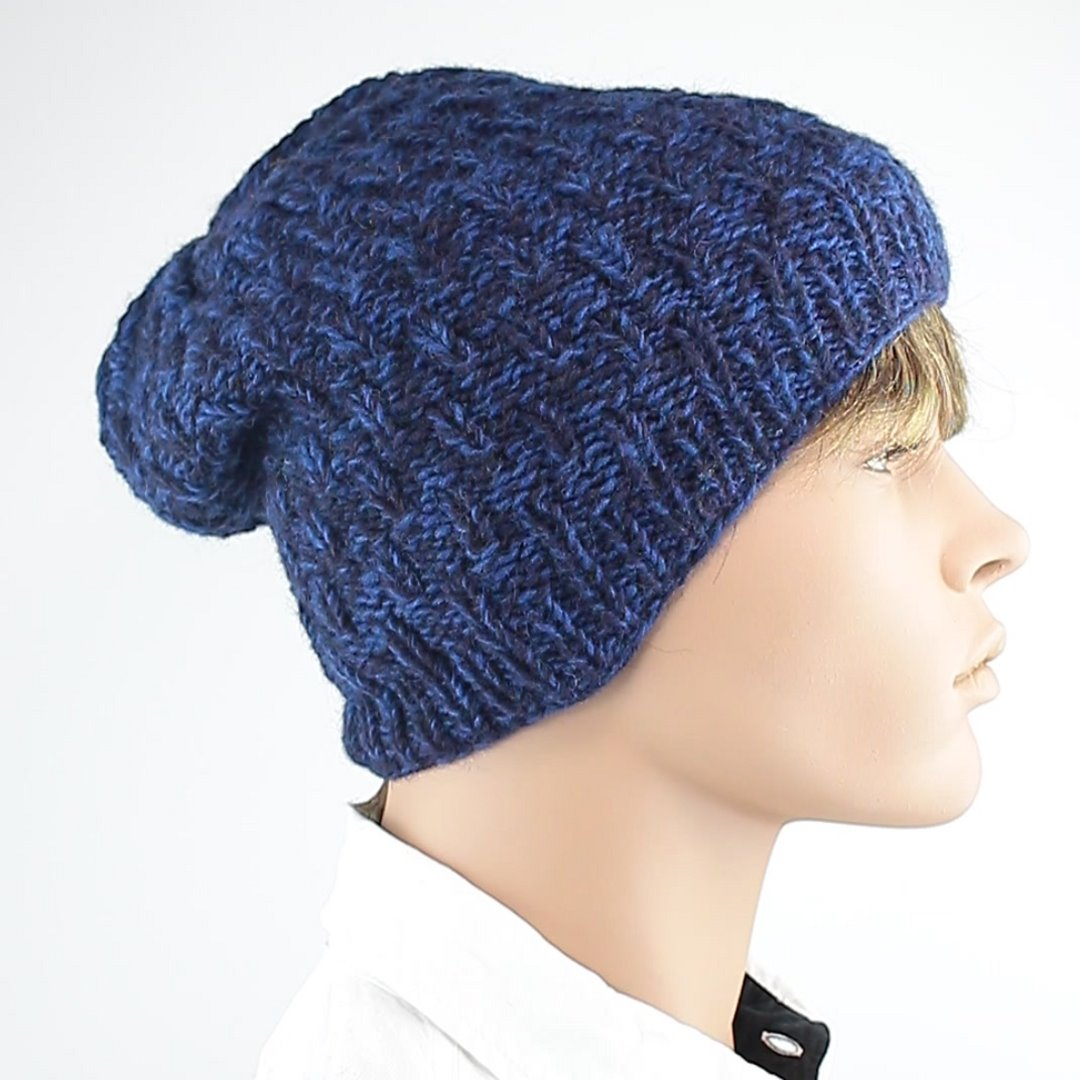 Foto 2: Winter-Mütze in Blau