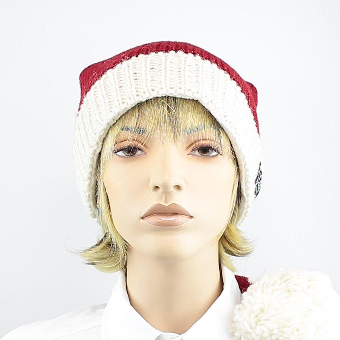 Foto 1: Weihnachtsmann-Wollmütze