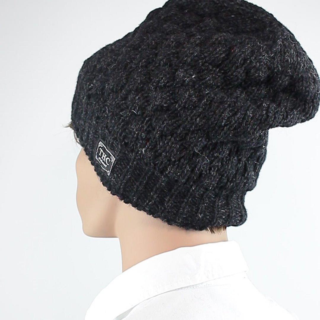 Foto 4: Wintermütze: Leicht melierte Dunkelgraue Mütze