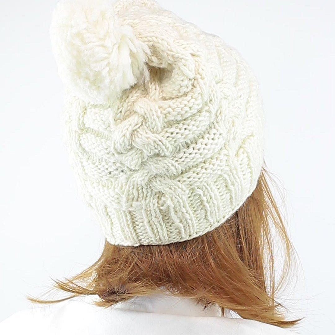 Foto 3: Warme Mütze in weiß