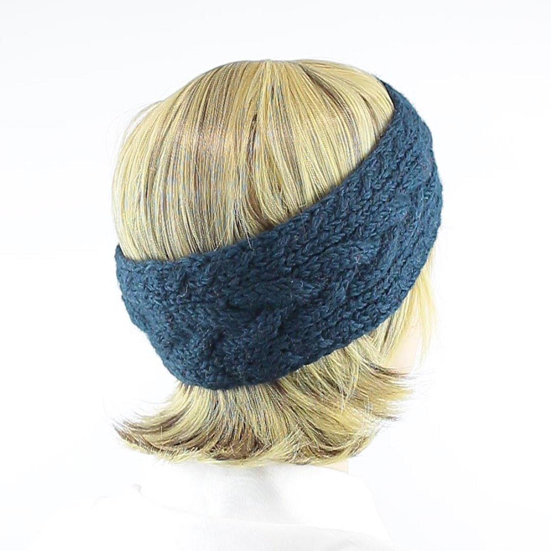 Foto 3: Ohrwärmer für den Winter in Oliveblau