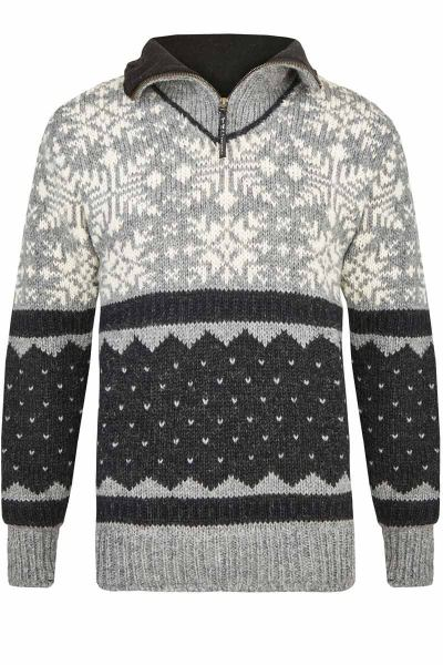 Outdoor-Strick-Pullover/Troyer Art.Nr.- 823