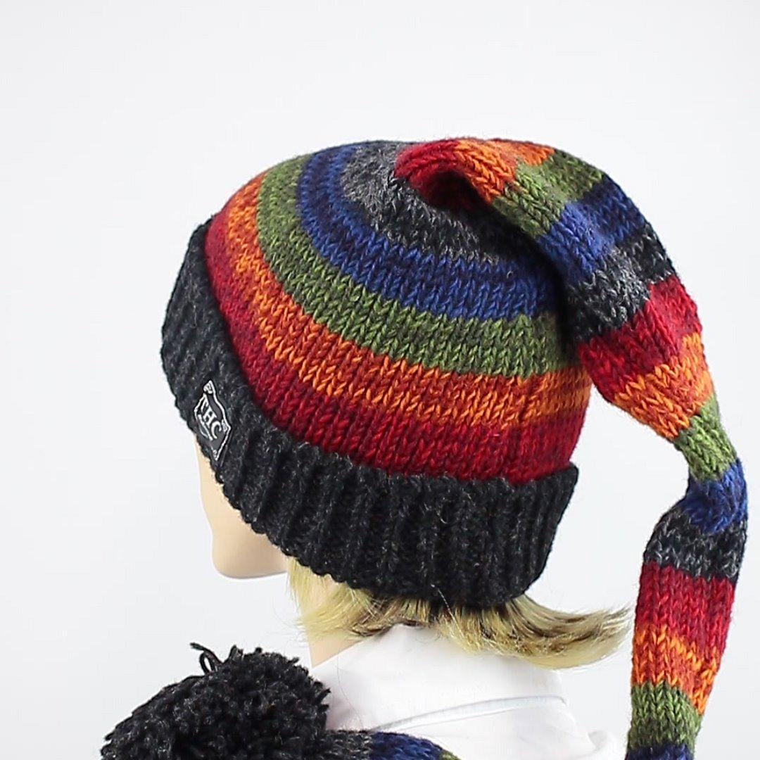 Foto 4: Regenbogen-Zipfelmütze