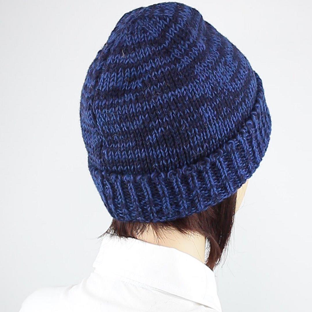 Foto 3: Round Cap-Mütze mit dunklen Blautönen