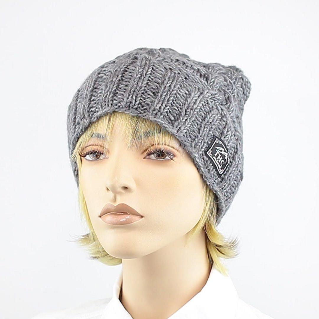 Foto 1: Wollmütze in grau