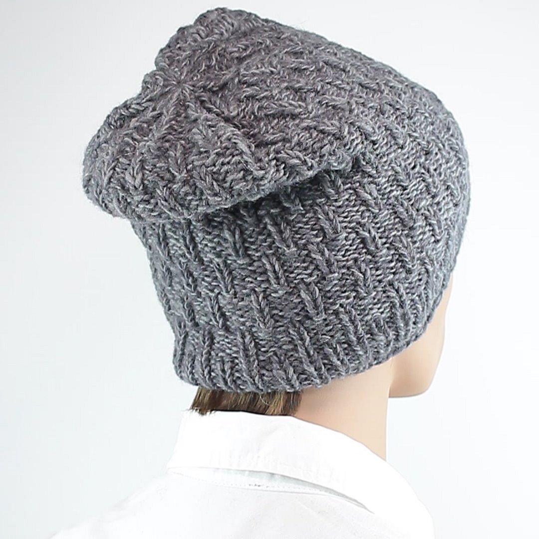 Foto 3: Mütze in universell einsetzbarem Grau