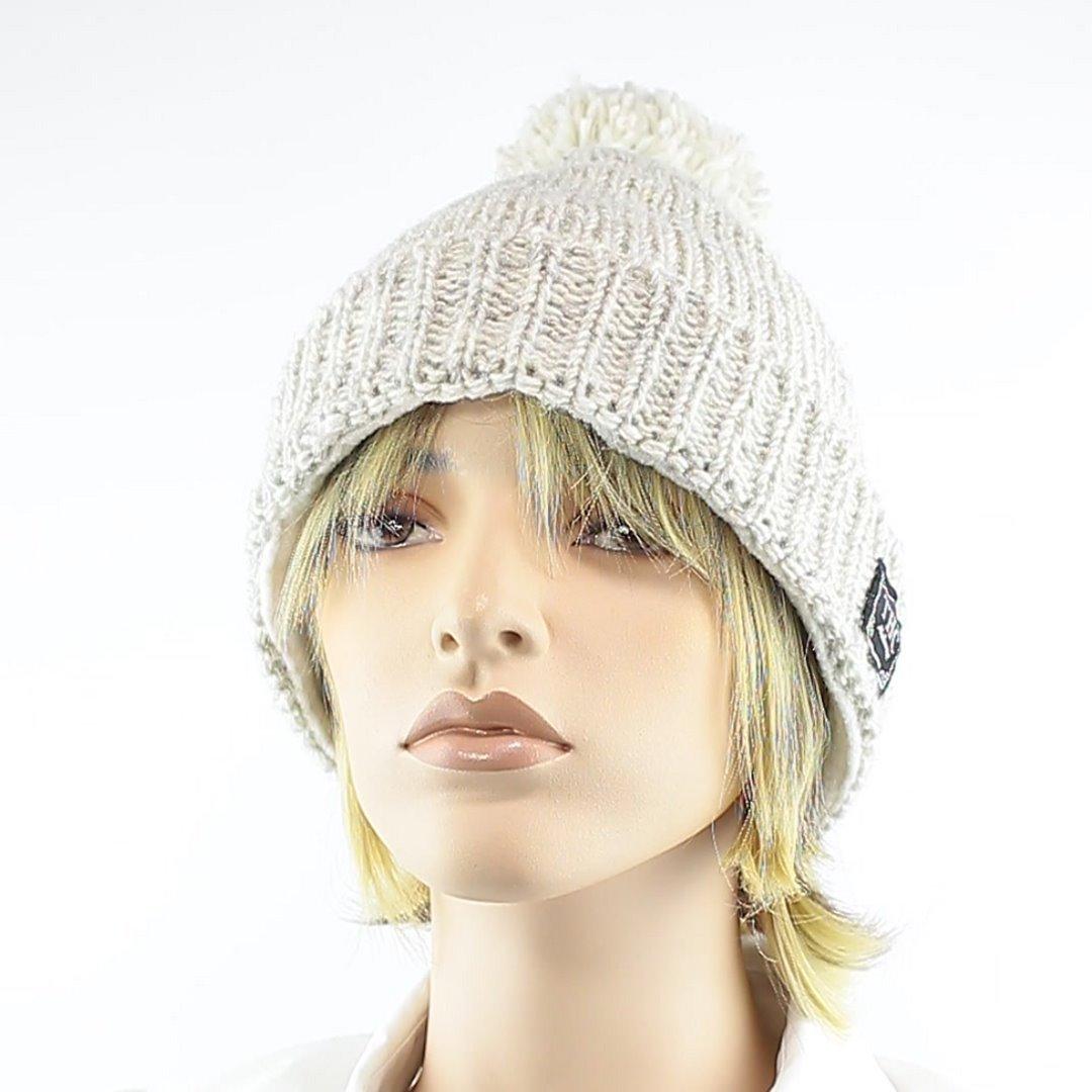 Foto 1: Winter-Wollmütze passt zu allen Naturtönen