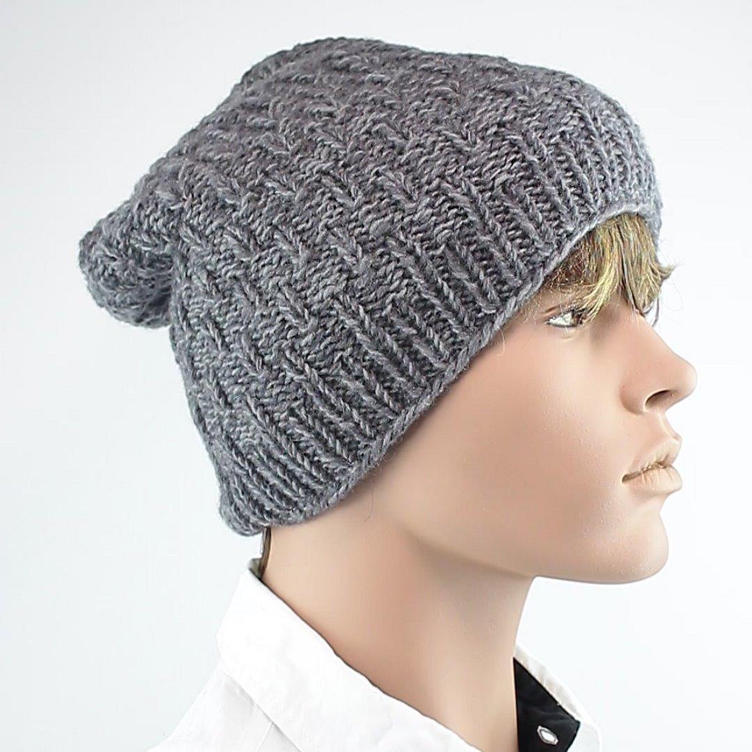 Foto 2: Mütze in universell einsetzbarem Grau