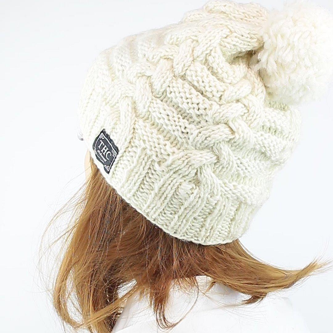 Foto 4: Warme Mütze in weiß