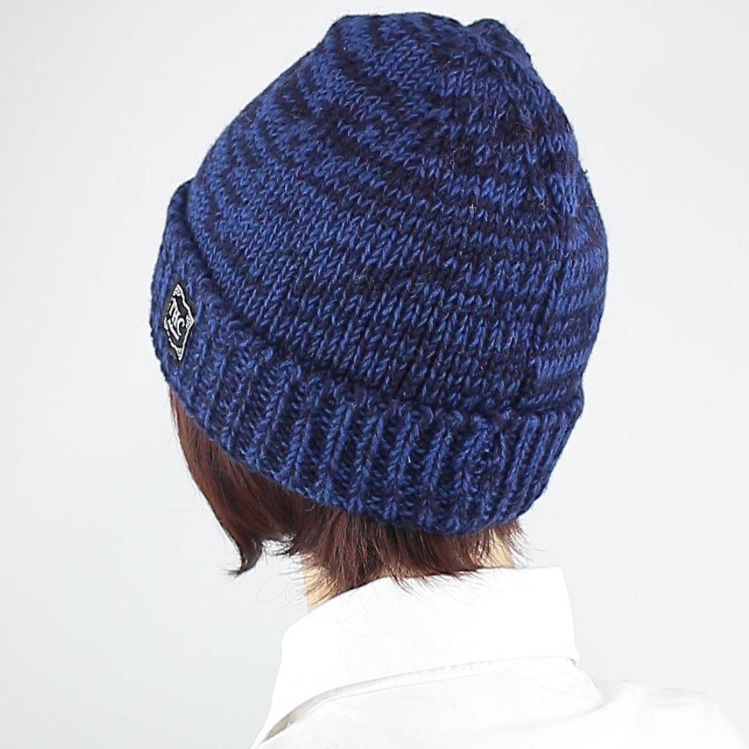 Foto 4: Round Cap-Mütze mit dunklen Blautönen
