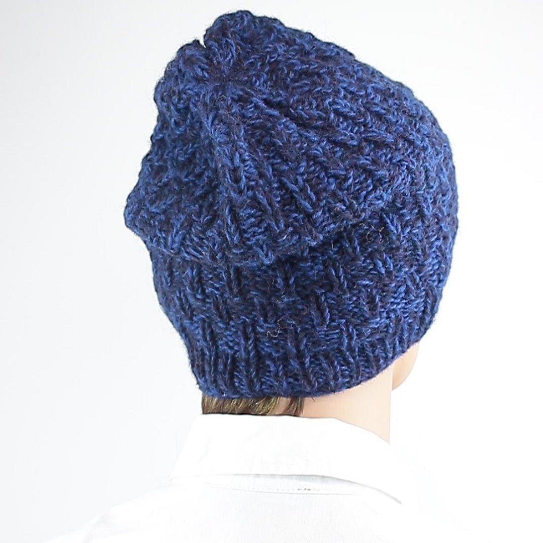 Foto 3: Winter-Mütze in Blau