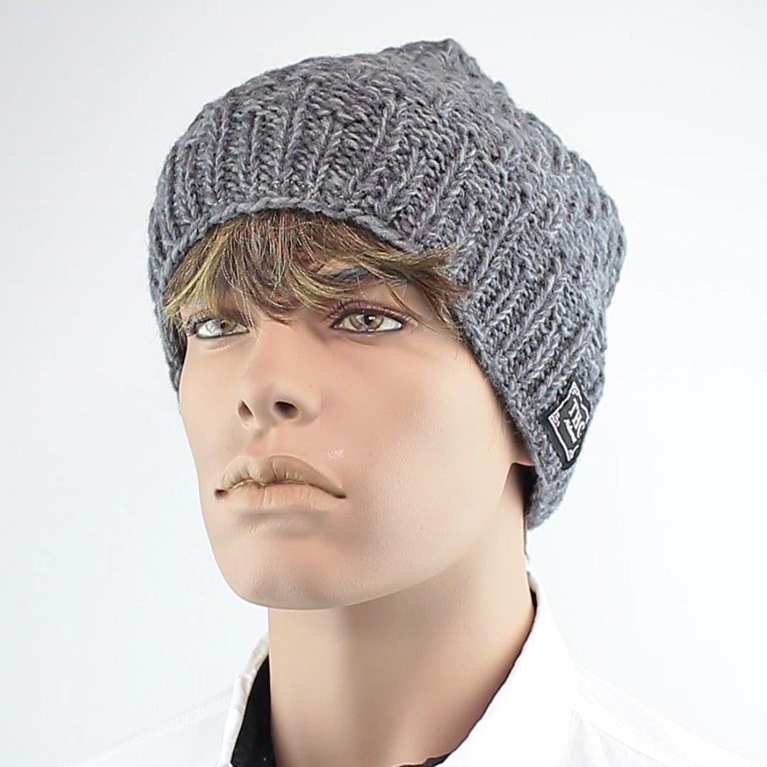 Foto 1: Mütze in universell einsetzbarem Grau