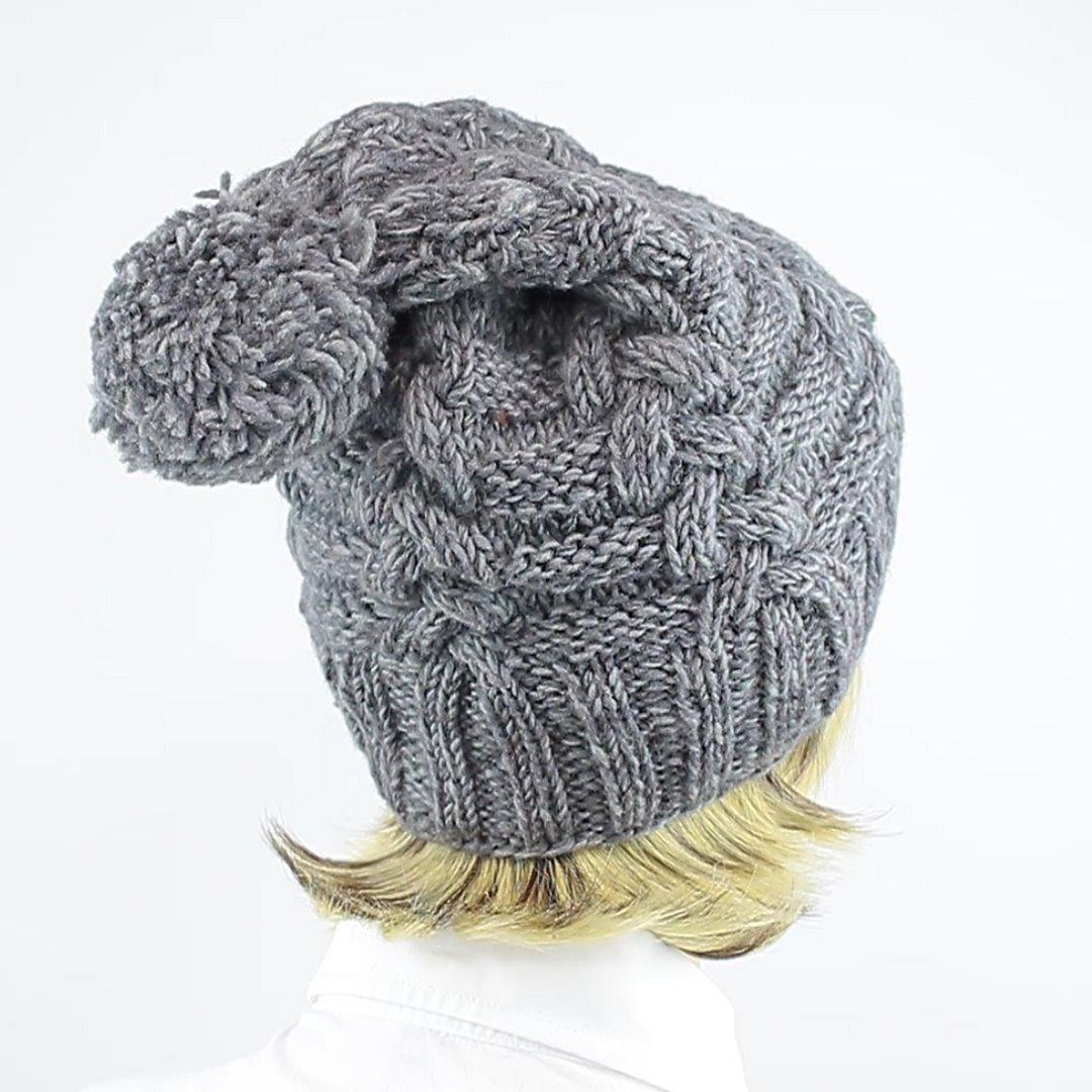 Foto 3: Wollmütze in grau