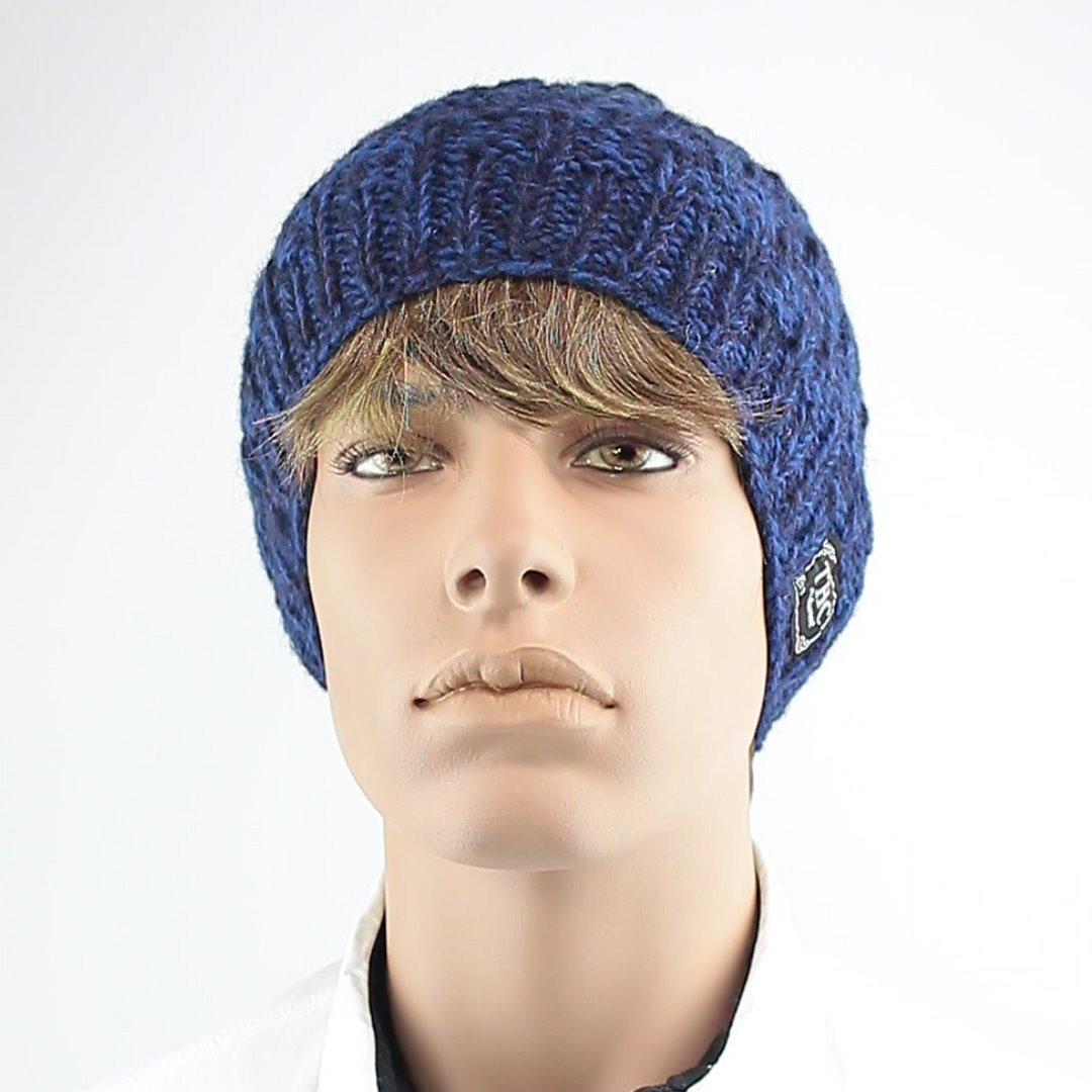 Foto 1: Winter-Mütze in Blau