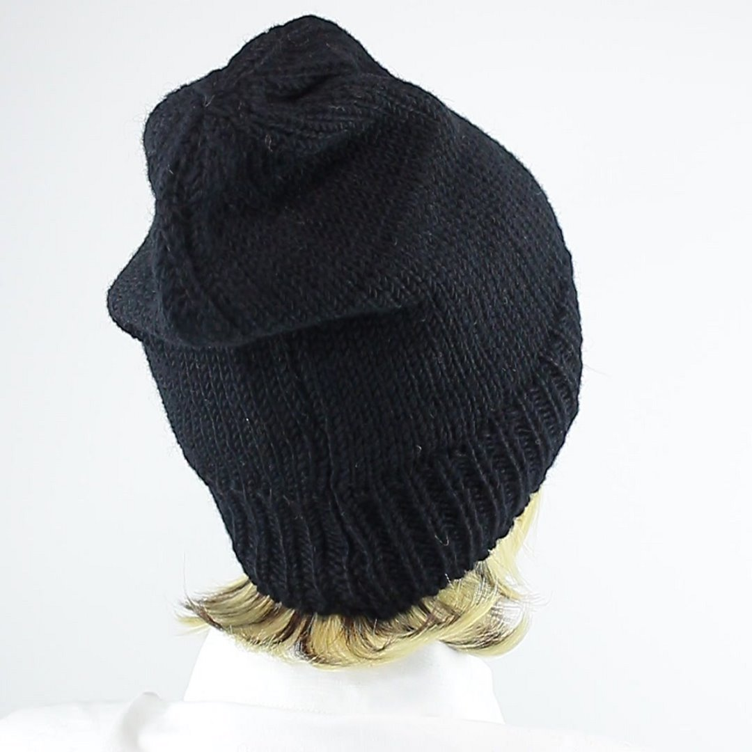 Foto 3: Schwarze Wollmütze